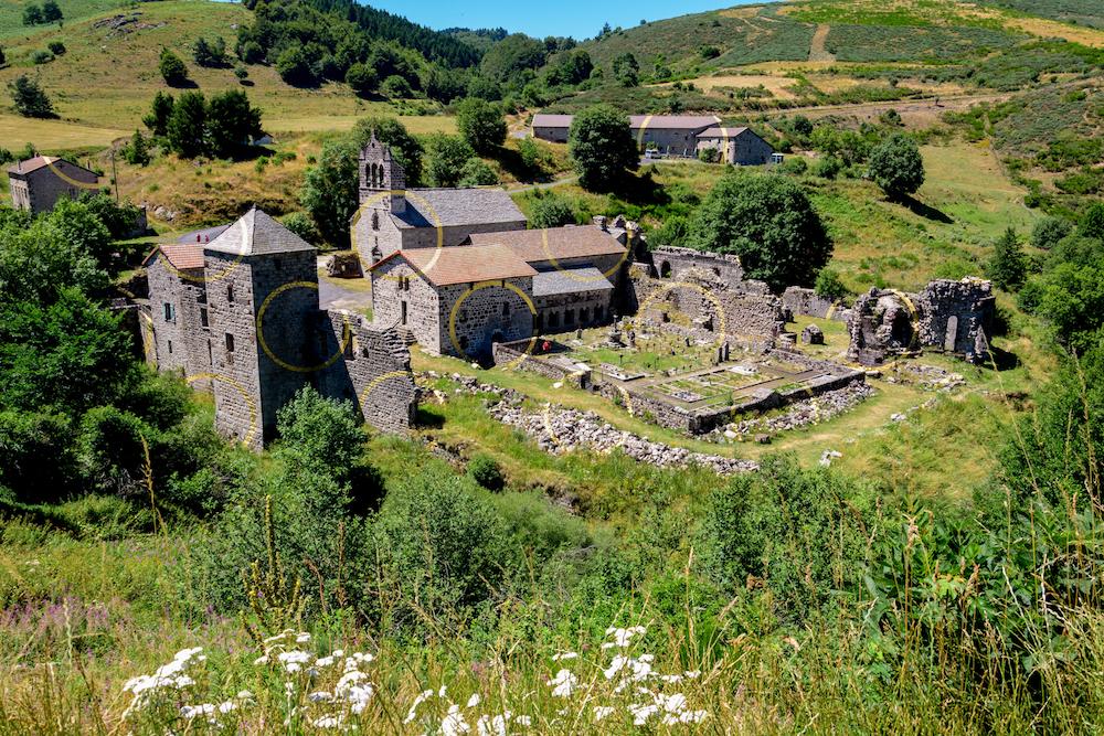 Le partage des eaux, en Ardèche
